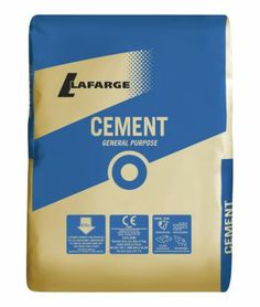 Lafarge General Purpose Cement 25kg, 5018719100046