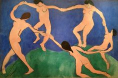 Henri Matisse; La danza; 1909-10; olio su tela; Museo dell'Ermitage, San Pietroburgo.