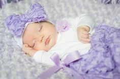 Sale Lovely lilac rosette take home gown going by StorkNestDesigns, $29.00