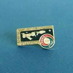 Vintage soviet pin badges - Soyuz-Apollo - Space Program - The Soviet space program - Space Pins, The Soviet space program by RarityFromUSSR on Etsy