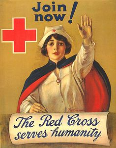 WW1- The Red Cross serves humanity by x-ray delta one, via Flickr