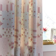 Pink Amelia Thermal Pencil Pleat Curtains | Dunelm