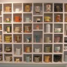 Coffee Mug Wall Display Mug Display Coffee Mug Display Mugs