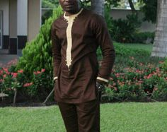 Men African Wear Men African Attire African by SJWonderBoutique