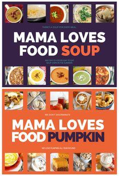 Mama Loves Food!: Mama Loves Food eBOOKS!