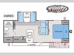 Used 2014 Jayco Jay Flight Swift 248RBS Travel Trailer at General RV | Dover, FL | #120255