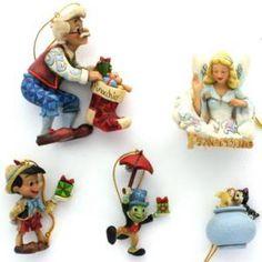 Jim Shore Pinocchio Ornaments