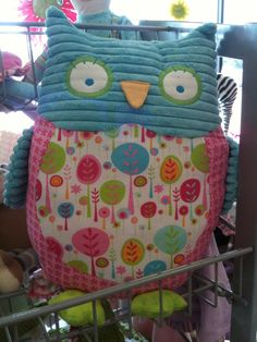 OWL PILLOW. Perfect for Carson!
