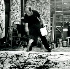 PAINTING IS SELF DISCOVERY. EVERY ARTIST PAINTS WHAT HE IS.    -Jackson Pollock.