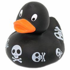 Badeente Totenkopf - LiLaLu #duck #skull