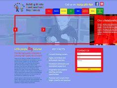 Building Blocks Montessori | Dribbble | Web Design | Animation