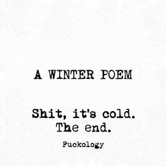 I have NEVER liked poetry