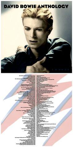 DAVID BOWIE ANTHOLOGY 10-disc CD compilation http://honeypotdesigns.blogspot.co.uk/search/label/David%20Bowie