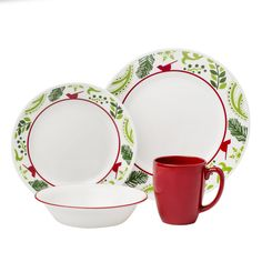 Corelle® Impressions™ Birds & Boughs 16-pc Dinnerware SetImpressions™ Birds & Boughs 16-pc Dinnerware Set