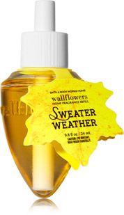 Sweater Weather Wallflowers Fragrance Refill - Home Fragrance 1037181 - Bath & Body Works