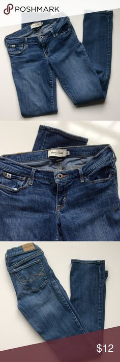 Abercrombie jeans, size 16, stretchy! Perfect pair of jeans, size 16!  Your teenager will love you! Abercrombie & Fitch Bottoms Jeans