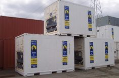 """""""REFRIGERATED CONTAINER"""" When Royal Wolf refrigerated containers become non operational as cool room or freezer solutions, we repurpose them as Non Operating Refrigerated containers. Next At Home, Cool Rooms, Storage Solutions, New Zealand, Locker Storage, Living Spaces, New Homes, Container, Australia"""