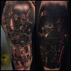 Men's Star Wars Tattoos