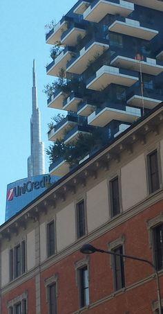 Buildings - Three different ones, Porta Nuova, Milano
