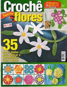 Häkelmuster Fundgrube: Bücher und Zeitschriften ~ Blumen