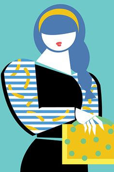 Laura Rolwing Illustration, via Refinery 29: Plus-Size Problem - Why Clothes Are Not Made Bigger