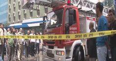06.Başkent Haber: Ankara'nın Ulus semtinde bir otelde yangın çıktı.