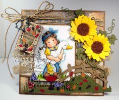 Cathy's Creative Place: Magnolia-licious - Use Kraft Paper
