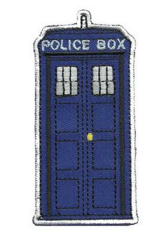 The Police Box Doctor Who Tardis Appliques Embroidery Iron on Patch | Crafts, Sewing, Embellishments & Finishes | eBay!