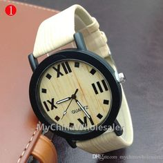 2015 NEW Fashion Simulated Wooden Watches Luxury High-grade Quartz Watches For Men And Women Online with $3.02/Piece on Mychinawholesaler's Store   DHgate.com