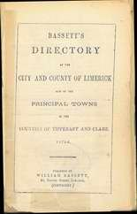 Trades & Street Directories, 1769 - 1976, Limerick City Council