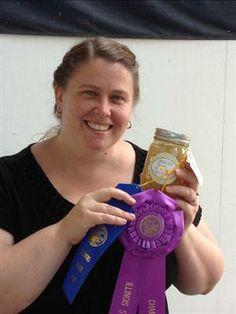 Annie Dunbar..BIS IL State Fair..Canned Pears recipe..