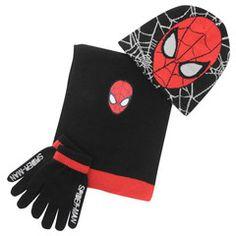 e6cb1cf56399e SPIDERMAN ~ 3pc Knitted Set