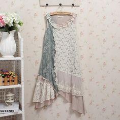 lolita hippie boho chic mori girl crochet kawaii sequin spain harajuku bohemian patchwork embroidery roupas feminina floral lace