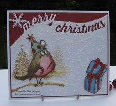 pamscrafts: Bird Crazy! Merry Christmas.