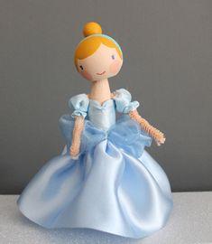 Pretty Peg Doll, Disney Cinderella Princess
