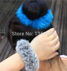 Free shipping! 2015 New Hot Faux Rabbit Ear Fur Hair Bands Elastic Women Hair Holder Women  Hair Ties Hair Accessories-in Hair Accessories from Women's Clothing & Accessories on Aliexpress.com   Alibaba Group