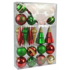 The Holiday Aisle® Snowy Avalanche 7.5 Green Spruce Artificial Christmas Tree with 600 Clear Lights & Reviews   Wayfair Frosted Christmas Tree, Christmas Ornament Sets, Christmas Store, Christmas Tree Themes, Christmas Bulbs, Holiday Decor, Christmas Decor, Xmas, Ball Ornaments