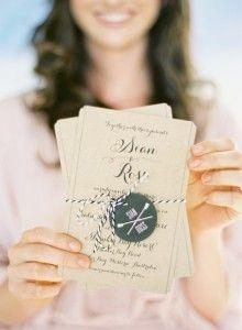 Invitaciones de Boda Originales que no te puedes perder! Ve todos los modelos en: http://bodasnovias.com/invitaciones-de-boda-originales-2/6730 #casarcasar