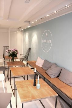 The Yogurt Shop by Louise Skafte, via Behance