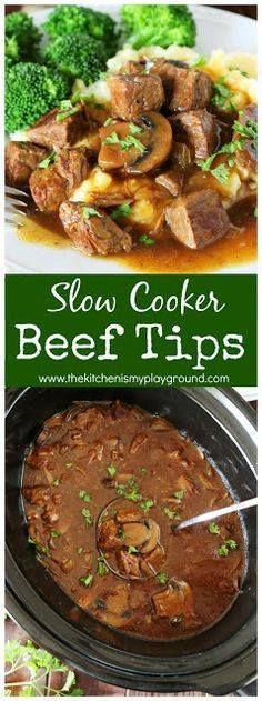 Slow Cooker Beef Tip Slow Cooker Beef Tips easy dinner comfort... Slow Cooker Beef Tip Slow Cooker Beef Tips easy dinner comfort food at its best perfect for enjoying again & again to satisfy our comfort food cravings. #slowcookerdinners #beeftips #slowcookerbeef #TeeterTreats #TeeterRecipes #ad www.thekitchenism Recipe : http://www.itubeudecide.com/ And @ItsNutella https://www.pinterest.co.uk/ItsNutella