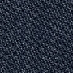 Indigo Denim 8.5 oz Dark Unwashed Blue from @fabricdotcom  This medium/heavyweight (8.5 oz per square yard) denim is perfect for creating pants, jean jackets, skirts and dresses and even home decor accents. This is soft, laundered-like denim.