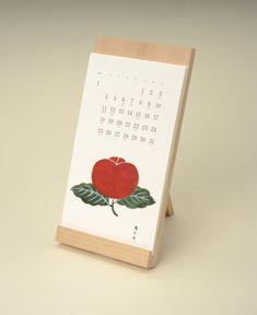 image:アートディレクター・葛西薫が監修した「とらや」の和菓子カレンダー
