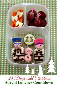 Keeley McGuire: {Christmas Countdown} Advent Lunches: Only 23 Days!