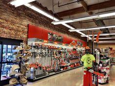 Wildomar ACE Hardware - #14550 Hardware Stores, Ace Hardware, Warehouse Design, Tool Shop, Shop Fittings, Garage Design, Tool Storage, Garages, Retail Design
