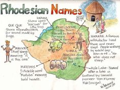 Ian Smith, Caricature Gifts, Long Books, Witch Doctor, Childhood Memories, South Africa, History, Victoria Falls, Place Names