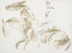 Dame Elisabeth Frink 'Man and Horse V', 1971