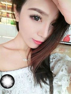 Discounted Fashion Cosmetic Circle Contact Lens Makeup Yearly Rum Style Grey Coloured Prescription Contact Lenses, Grey Fashion, Fashion Beauty, Cosmetic Contact Lenses, Grey Makeup, Colored Contacts, Makeup Cosmetics, Rum, Black And Grey