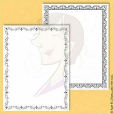 Retro Flourish Frames 8x11 Page Borders great as certificate, award, diploma clipart. Total 7 designs. https://www.etsy.com/listing/268947139/retro-flourish-frames-8x11-certificate