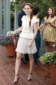 Blair Waldorf and Serena Van Der Woodsen style -xoxo gossip girl