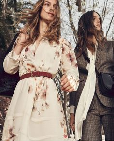 Warm pieces and 70's inspirations: Massimo Dutti new Woman lookbook Winter Bloom #AW16 #massimodutti Look____0008